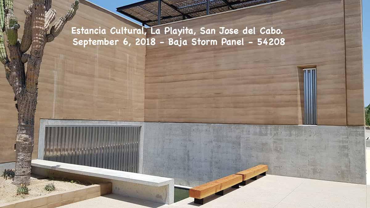 Estancia Cultural, La Playita, San Jose del Cabo. September 6, 2018 - Baja Storm Panel - 854208